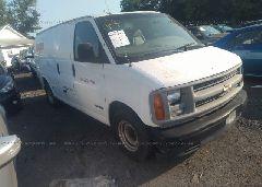 2002 Chevrolet EXPRESS G1500
