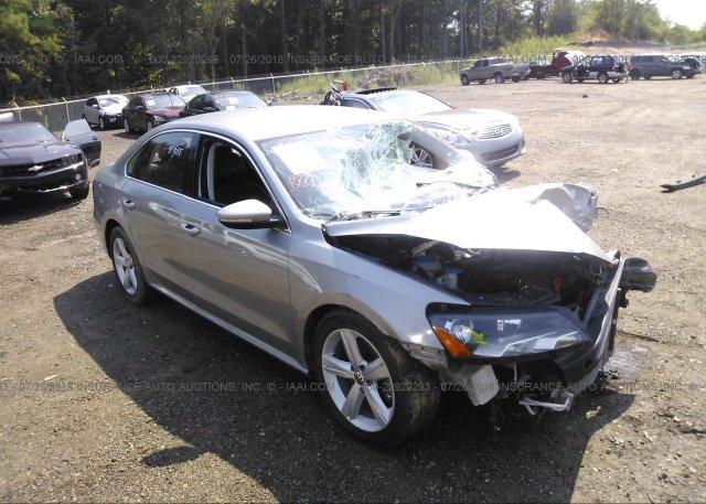 Inventory #608628246 2012 Volkswagen PASSAT