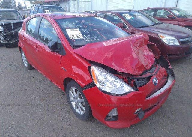 Inventory #166179675 2012 Toyota PRIUS C