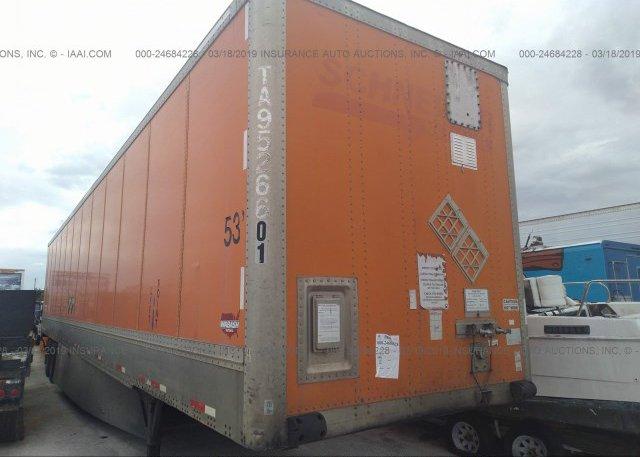Inventory #754549026 2005 WABASH NATIONAL CORP VAN