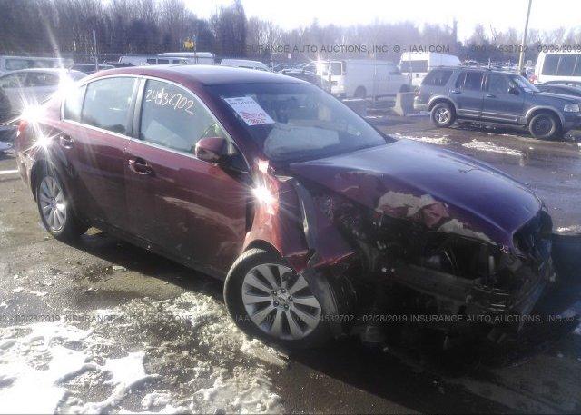 Inventory #893818464 2012 Subaru LEGACY