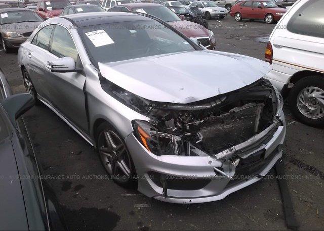 Inventory #502955101 2014 Mercedes-benz CLA