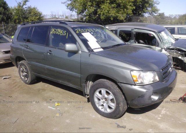 Inventory #720810184 2007 Toyota HIGHLANDER
