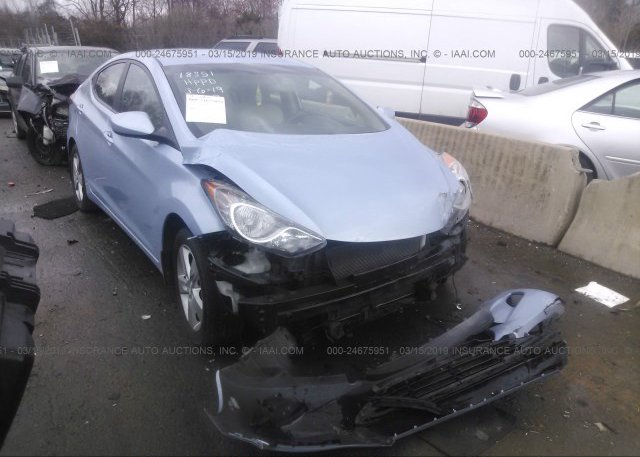 Inventory #410548811 2012 Hyundai ELANTRA