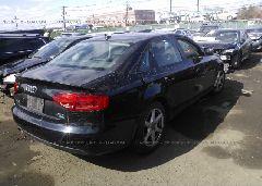 2009 AUDI A4 - WAULF78K39A131020 rear view