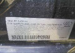 2009 AUDI A4 - WAULF78K39A131020 engine view