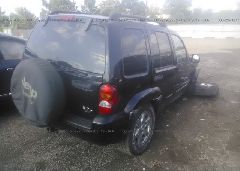2004 JEEP LIBERTY - 1J4GL58K54W101007 rear view