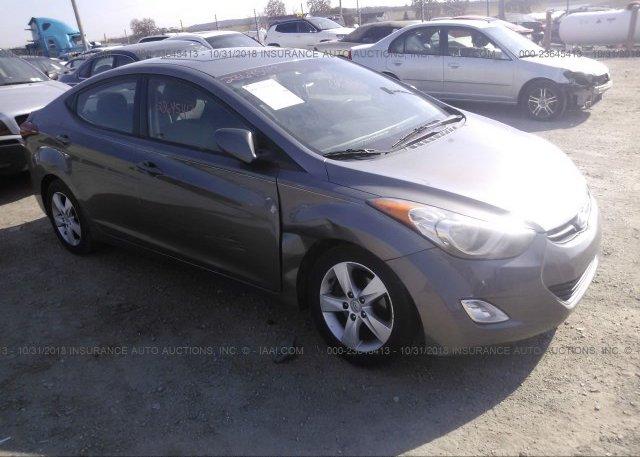 Inventory #223893364 2012 Hyundai ELANTRA