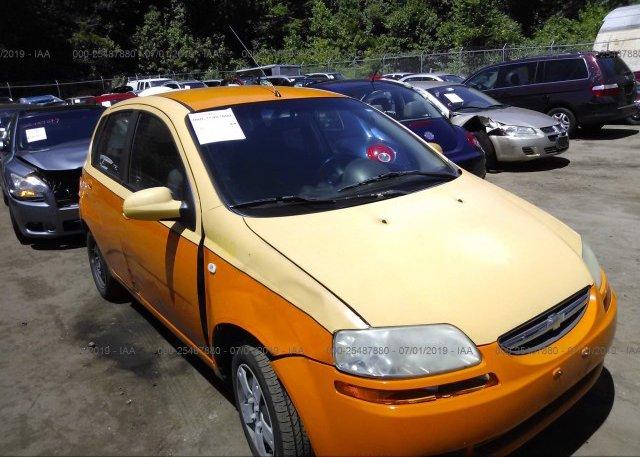Inventory #664532616 2007 Chevrolet AVEO
