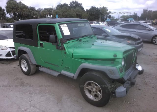 Inventory #923044522 2004 JEEP WRANGLER / TJ