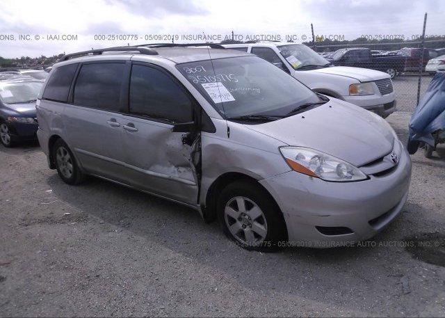 Inventory #837831293 2007 Toyota SIENNA