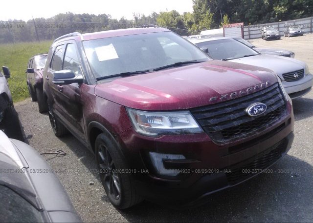 Inventory #321750916 2017 FORD EXPLORER