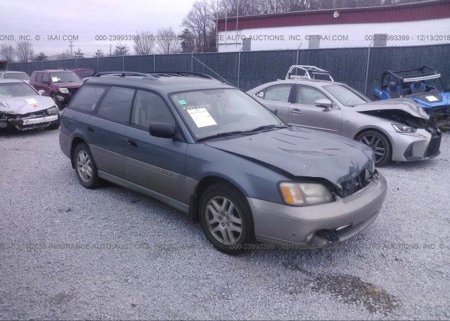 Inventory #399731129 2001 Subaru LEGACY