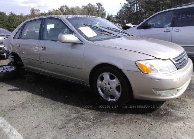 Inventory #416073340 2004 Toyota AVALON