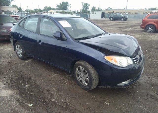 Inventory #557627480 2010 Hyundai ELANTRA