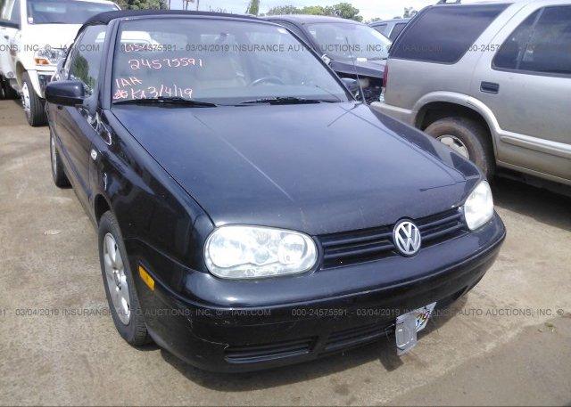 Inventory #812371983 2002 Volkswagen CABRIO