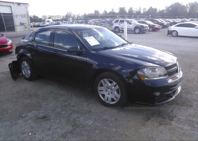 Inventory #349463754 2012 Dodge AVENGER