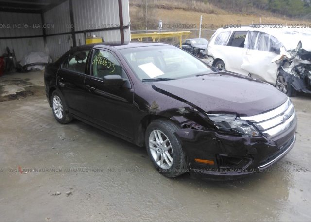 Inventory #731782509 2012 FORD FUSION