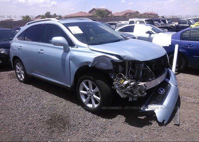 Inventory #878238752 2011 Lexus RX