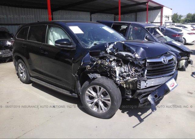 Inventory #746866928 2016 Toyota HIGHLANDER