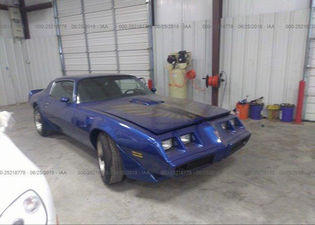 Inventory #338012694 1979 PONTIAC FIREBIRD