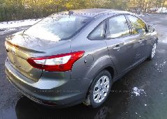 2012 FORD FOCUS - 1FAHP3F2XCL240805 rear view