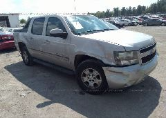 2007 Chevrolet AVALANCHE - 3GNEC12047G156541 Left View