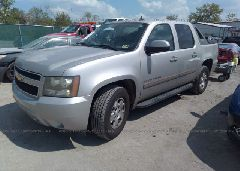 2007 Chevrolet AVALANCHE - 3GNEC12047G156541 Right View