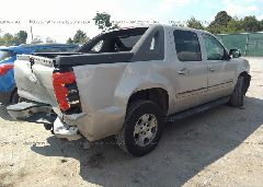 2007 Chevrolet AVALANCHE - 3GNEC12047G156541 rear view