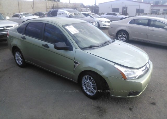 Inventory #645407853 2008 FORD FOCUS