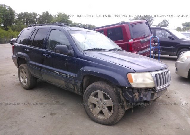 Inventory #958928379 2004 JEEP GRAND CHEROKEE