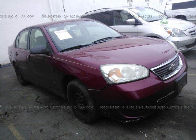 Inventory #139400218 2006 Chevrolet MALIBU