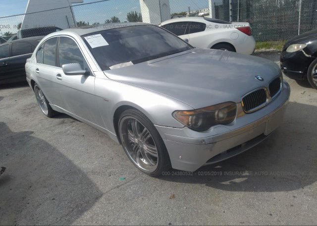 Inventory #393383991 2002 BMW 745