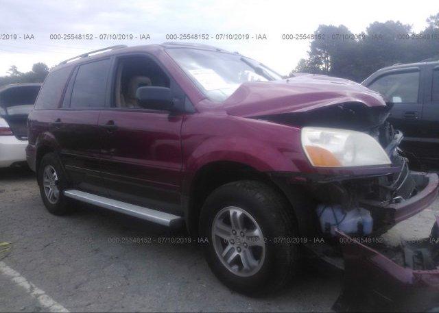Inventory #168209994 2005 Honda PILOT