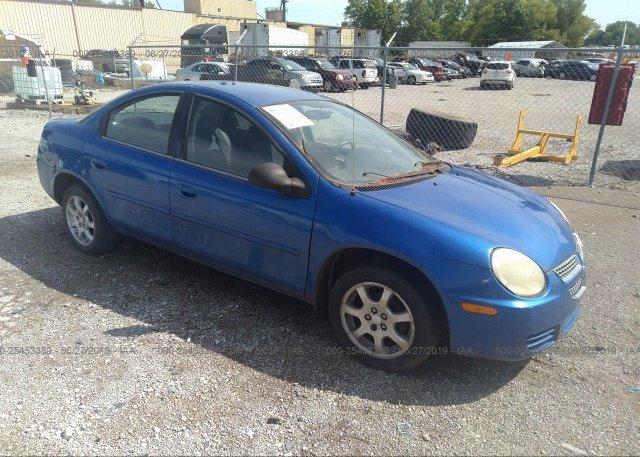 Inventory #764872338 2005 Dodge NEON