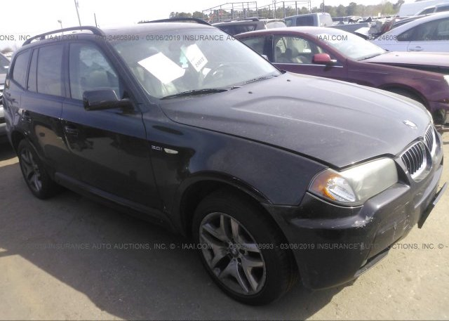 Inventory #837102736 2006 BMW X3