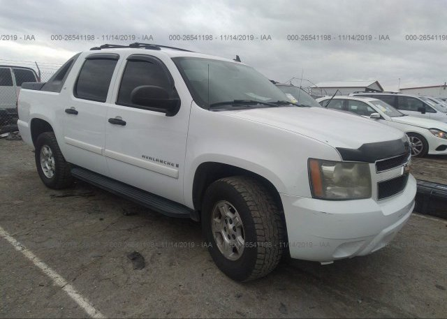 Inventory #417065744 2008 CHEVROLET AVALANCHE