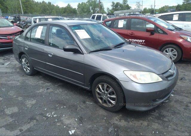 Inventory #253405692 2005 Honda CIVIC