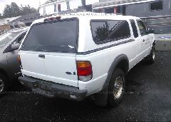 1999 FORD RANGER - 1FTZR15V1XTA70672 rear view