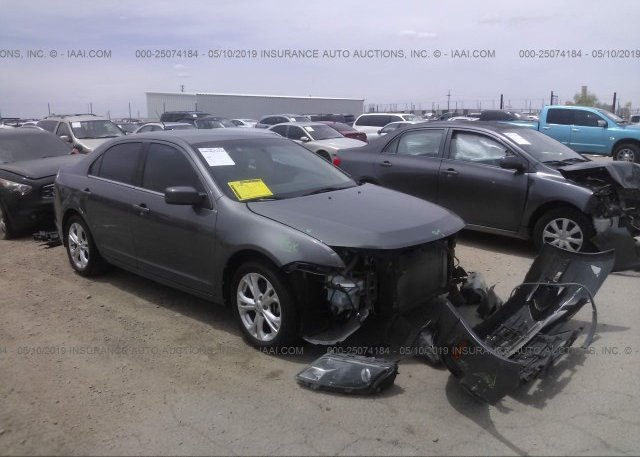 Inventory #545941068 2012 FORD FUSION