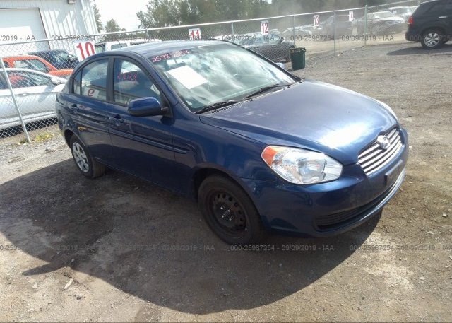 Inventory #807086935 2010 Hyundai ACCENT