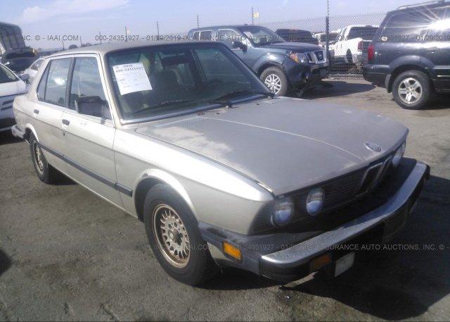 Inventory #107984647 1987 BMW 528
