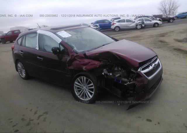 Inventory #561458096 2012 Subaru IMPREZA