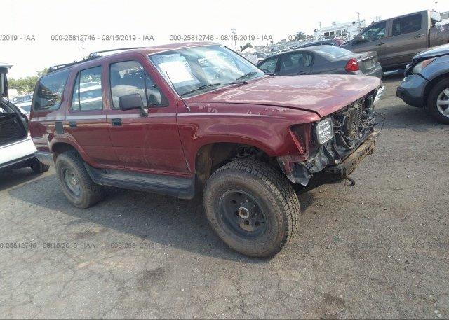 Inventory #199126104 1991 Toyota 4RUNNER