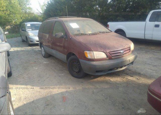 Inventory #134164472 2003 Toyota SIENNA