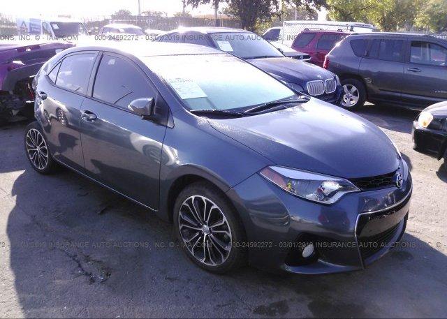 Inventory #717901223 2016 Toyota COROLLA