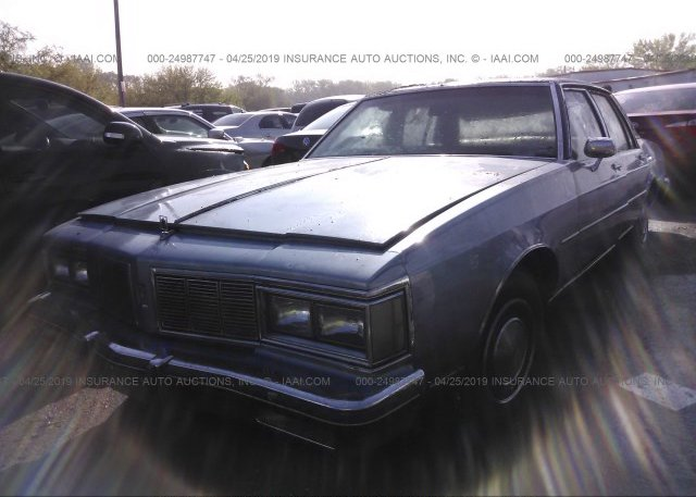 Bidding Ended On 1g3an69y6ex306703 Salvage Oldsmobile Delta 88 At