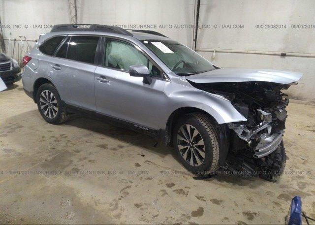 Inventory #298300110 2015 Subaru OUTBACK