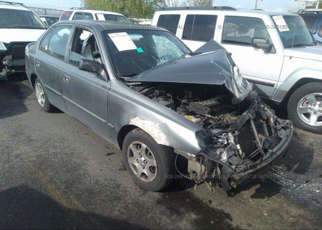 Inventory #918628325 2005 Hyundai ACCENT