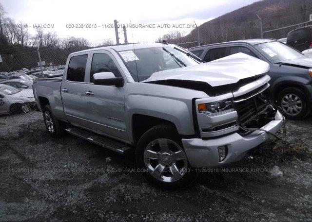Inventory #727009242 2017 Chevrolet SILVERADO